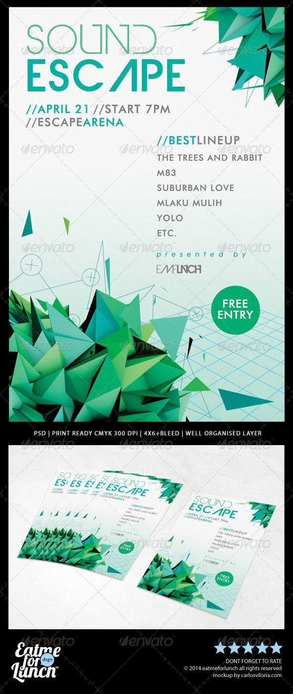 Extraordinary  Minimal Futuristic Abstract Flyer PSD Templates  • Only available here ➝ http://graphicriver.net/item/minimal-futuristic-abstract-flyer-templates/7645553?ref=pxcr
