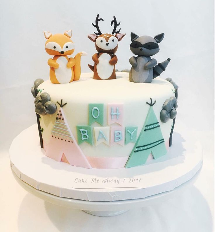 cakemeaway.us: Throwback to this woodland animals …