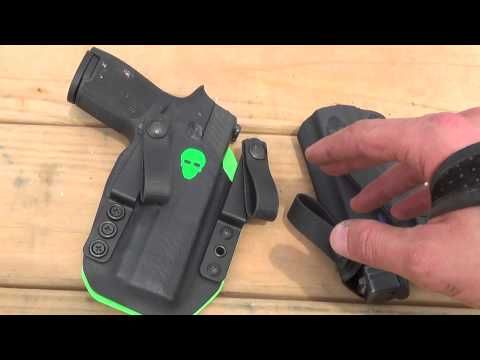 The BEST SIG P320 Holster: Green Force Tactical - YouTube
