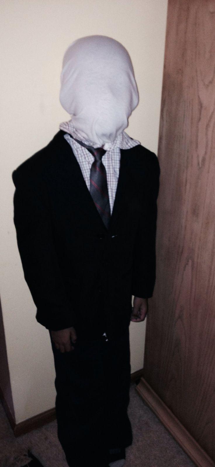 slender man costume for kids - Halloween Costume Slender Man