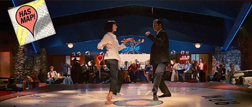 Filming locations from cult classic Pulp Fiction