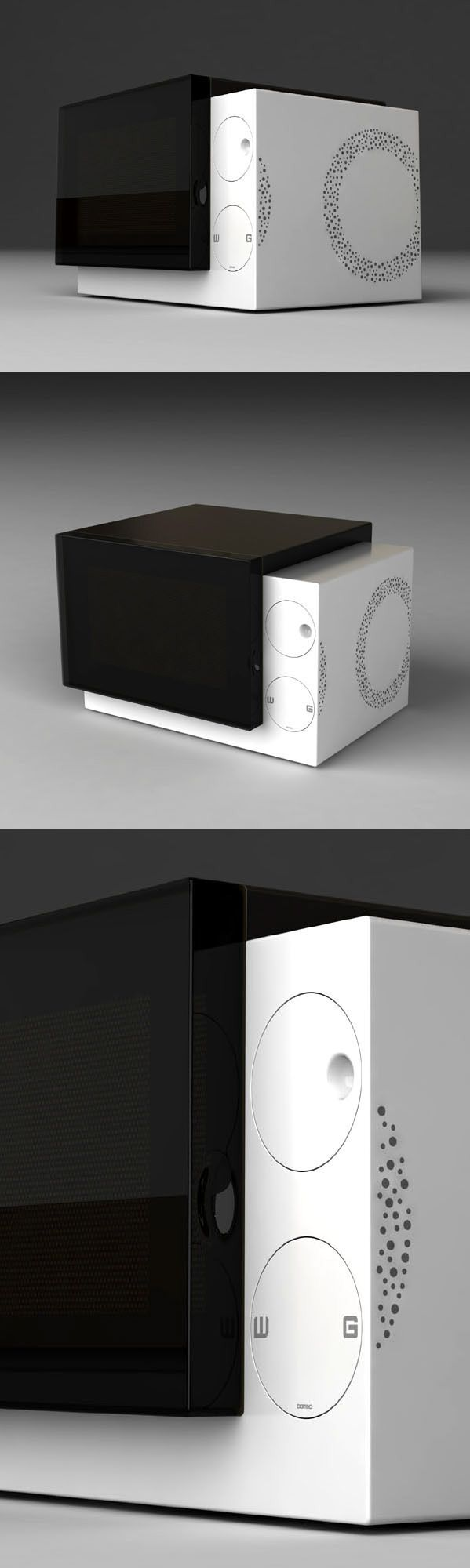 2009 Microwave oven design collection on Behance