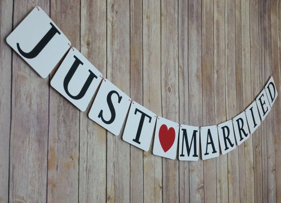 17 Best ideas about Just Married Banner on Pinterest | Engagement ...