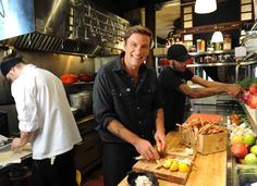 """Chuck Hughes is a celebrity chef and the first Canadian winner of """"Iron Chef."""" He owns Garde Manger and Le Bremner in Montréal."""