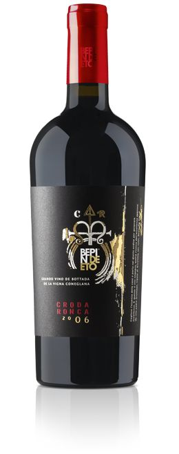 Bepin de Eto | CRODA RONCA  Deep garnet with ruby red highlights. The bouquet is complex, mature, and elegant, where spicy notes of cinnamon and tanned leather predominate, along with fresh hay, tobacco leaf, vanilla, and cocoa powder.