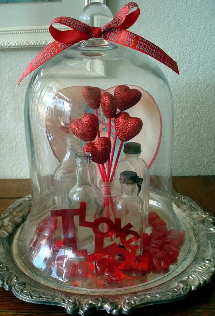 This gives me many ideas not just for Valentine decorating
