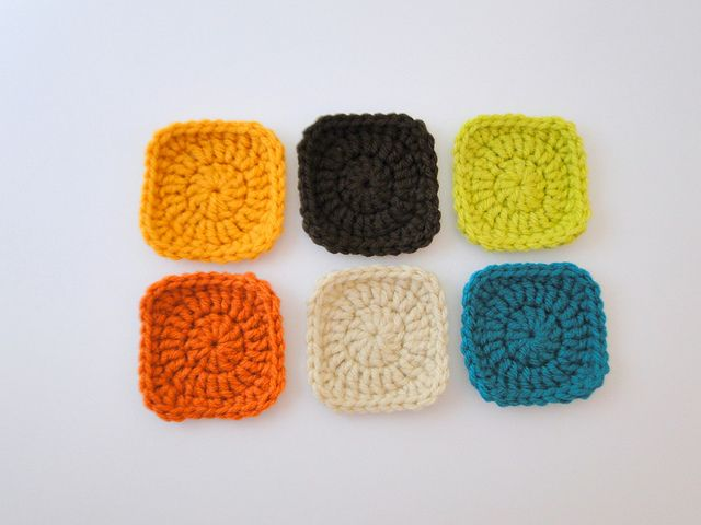 Solid mini square pattern by plus3crochet. thanks so for sharing xox