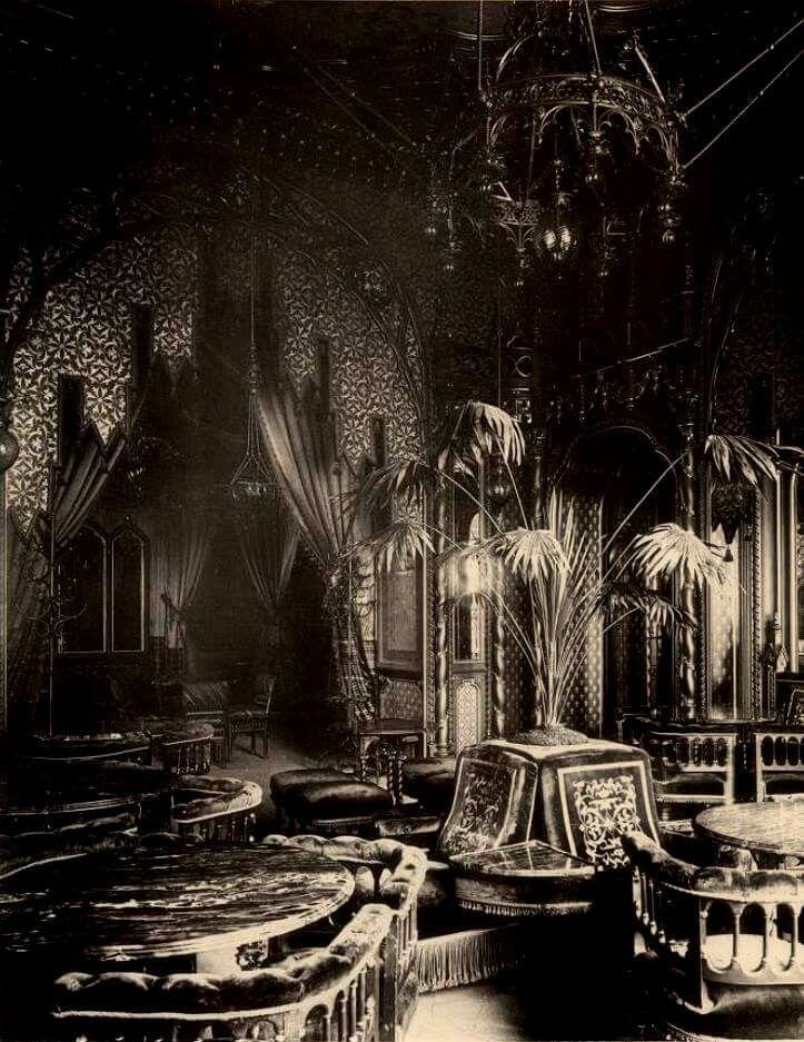 Budapest,Drechsler kávéház,(Drechsler-palota)Mai nevén Balettintézet.Divald Károly felvétele.1883.