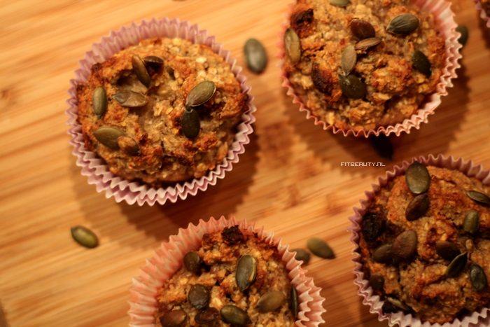 Recept: Fruit Muffins (Suikervrij en Glutenvrij) - Fitbeauty