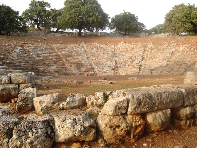 Oeniades Theatre in Katohi, Greece.  I performed here in the summer of 1998 as part of a University of Kansas study abroad program. One of the most amazing theatrical experiences of my life.