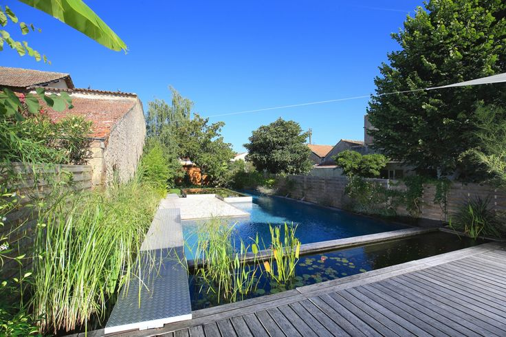 29 best piscines esprit nature images on pinterest for Construction piscine 45