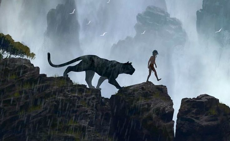 The first trailer for Disney and Jon Favreau's The Jungle Book is dark and brooding