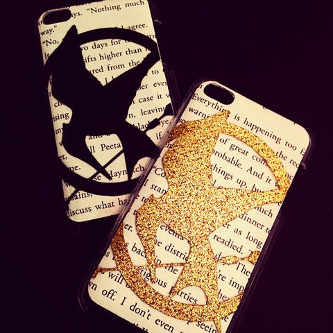 Handmade Hunger Games Phone Cases! @skelly2363 this is one if the ones I HAVE to have