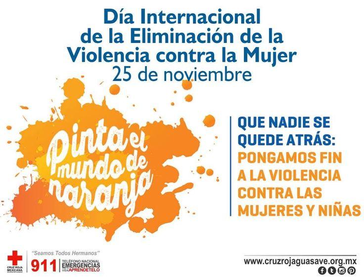 En la actualidad, la violencia contra las mujeres y las niñas es una de las violaciones de los derechos humanos más extendidas, persistentes y devastadoras del mundo. #ContralaViolenciadeGenero #CruzRojaGuasave