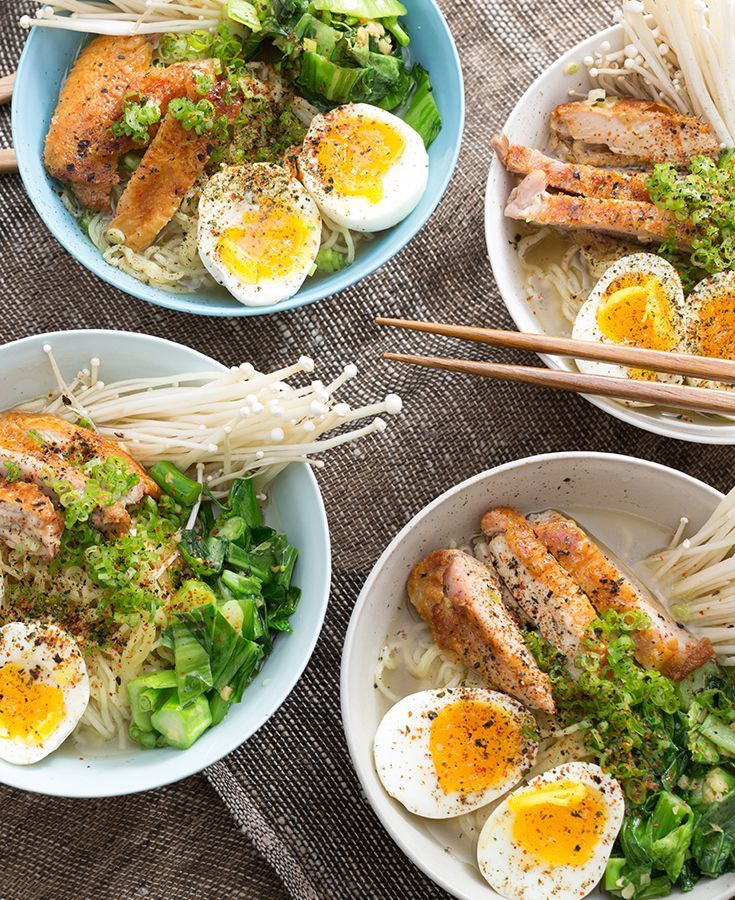 All all-time favorite: fresh ramen. Serve it up family style on a cold winter night!