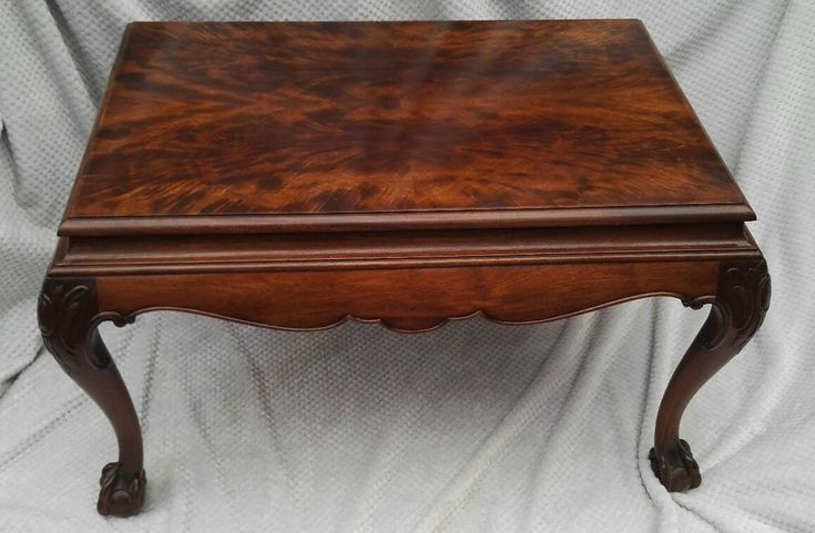Fine Antique Waring & Gillow Lancaster Chippendale Mahogany coffee table c1900s in Antiques, Antique Furniture, Tables | eBay!