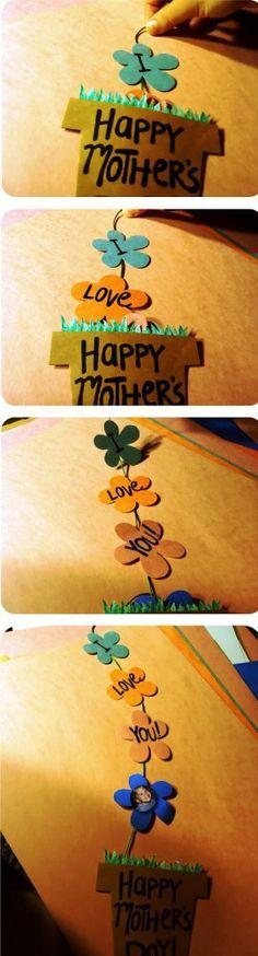 Идеи поделок на День Матери