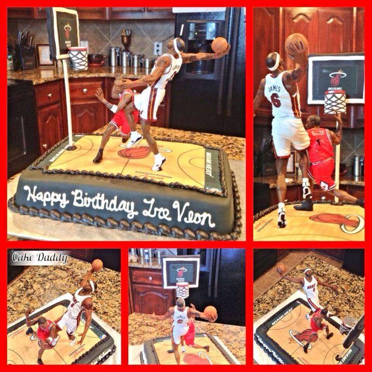 Derrick Rose Birthday Cake