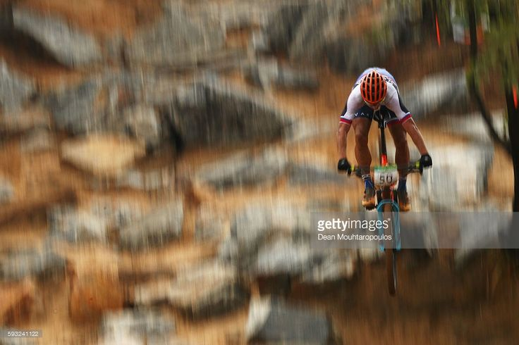 Peter Sagan of Slovakia rides during the Men's Cross-Country on Day 16 of the…