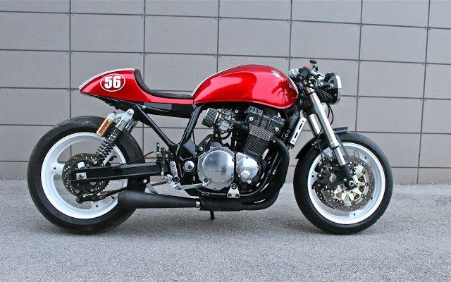 Suzuki Cafe Racer by Simone Panico   www.caferacerpasion.com