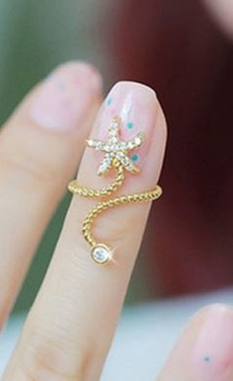 starfish wrap ring