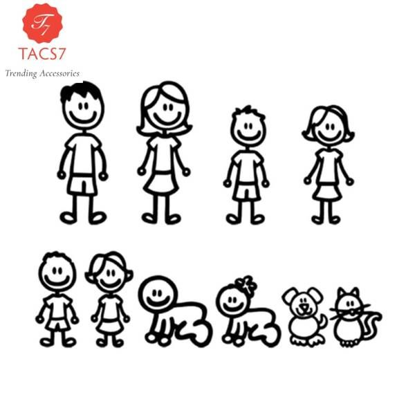 15 58cm Family Car Stickers Trending Accessories Family Stickers Family Car Stickers Car Stickers