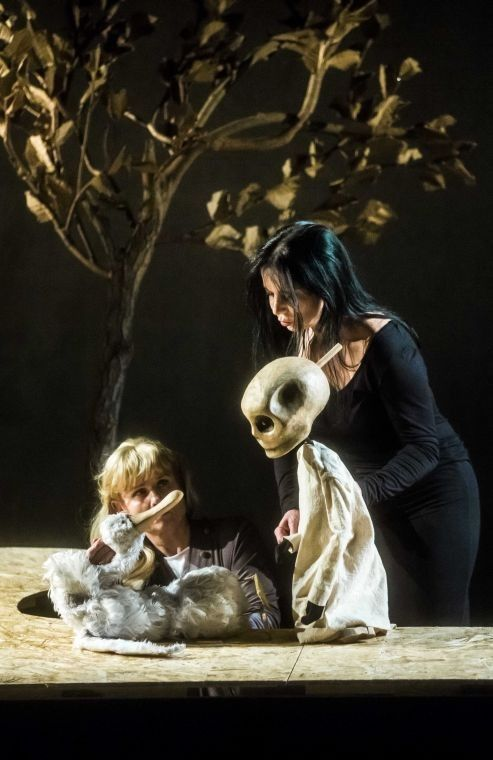 Gęś, Śmierć i Tulipan « Teatr Baj