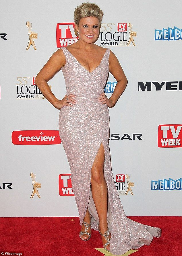 Pregnant! Home And Away star Emily Symons has announced she is pregnant with her first chi...