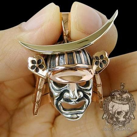 Naszyjnik męski srebro SJ Japanese Samurai