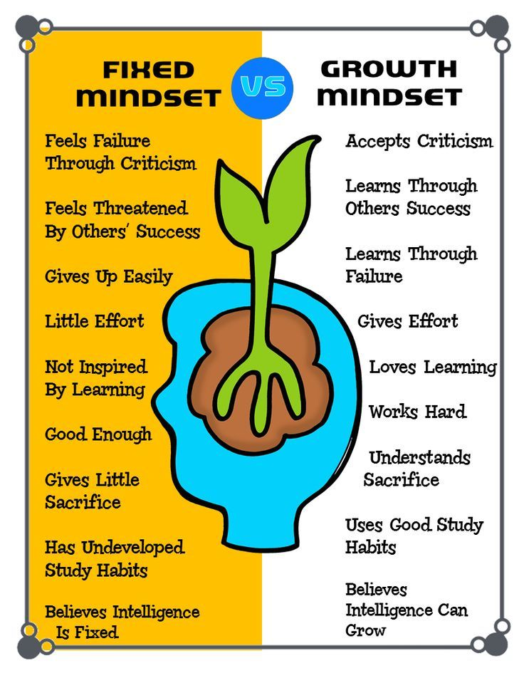 Fixed vs Growth Mindset. Part of the Mindset-I Have, Who Has Game