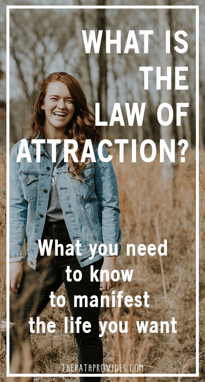Have you ever dreamed of manifesting the life you want ? Do you know what is the Law of Attraction ? This Universal law became popular through 'The Secret' and teaches us that like attracts like. But what is it exactly ? #lawofattraction #manifestation