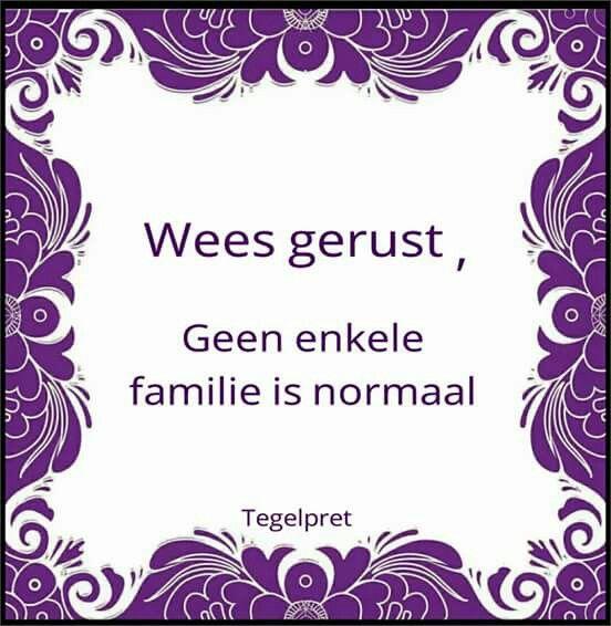 Geen enkele familie is normaal
