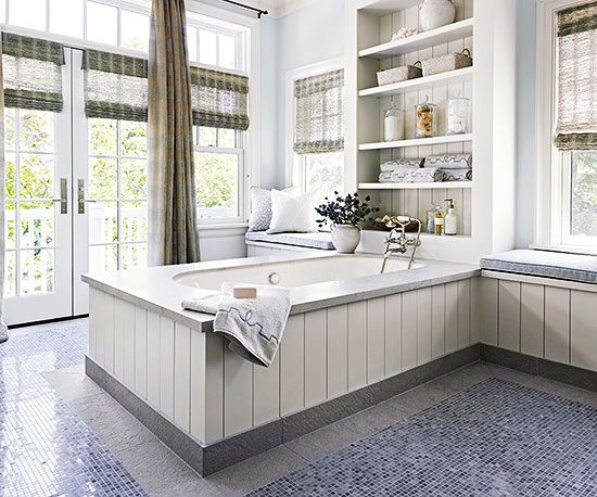 Blue And White Cottage Bathroom Ideas The Floor Tongue And Groove And Modern Cottage