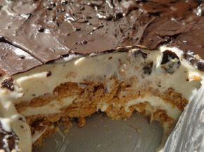 Σοκολατένιο δροσερό γλυκάκι πολύ γρήγορο!! Με γεύση που ξετρελαίνει !! ~ ΜΑΓΕΙΡΙΚΗ ΚΑΙ ΣΥΝΤΑΓΕΣ