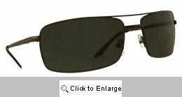 Rectangular Metal Glass Lens Aviator Sunglasses - 566