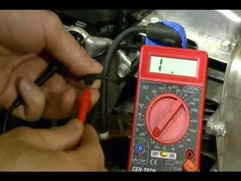 Small Engine Repair: How to test the Ignition Switch or Kill Switch on a...