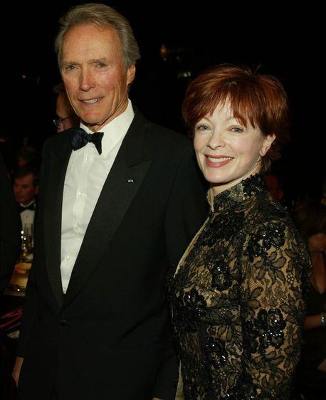 Clint Eastwood and Frances Fisher