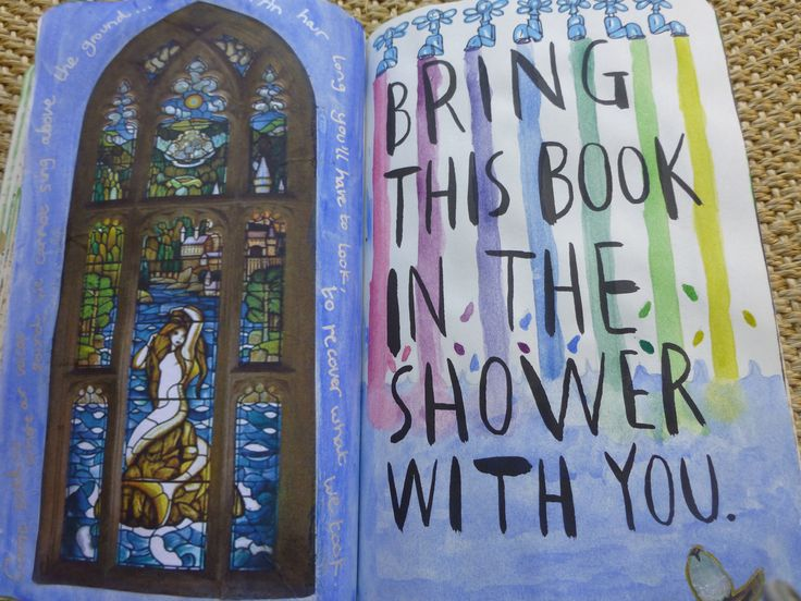 Bring this book in the shower with you Harry Potter prefects bathroom