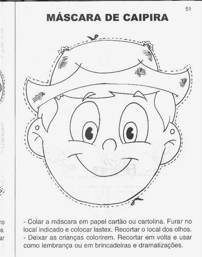 30 atividades de FESTA JUNINA para colorir | Atividades para Educação Infantil