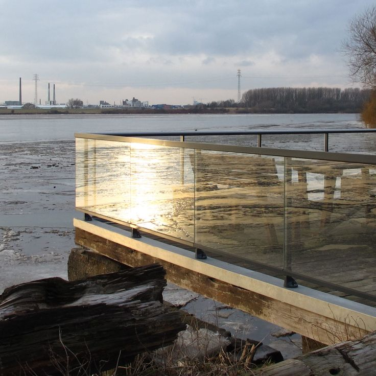 Aluminium-Geländer / Glas / Glasplatten / für Terrasse PANORAMA® dani alu