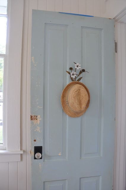 …pretty blue pastel door
