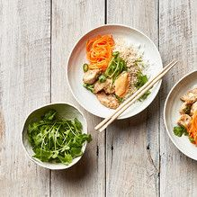 Tupperware - Lemongrass & Ginger Chicken Rice Bowl