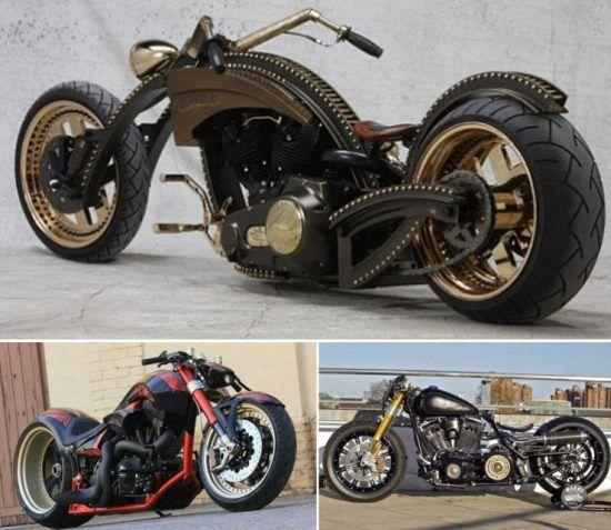 Custom Harley Davidsons