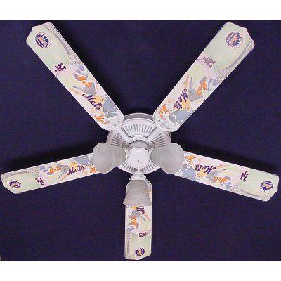 ceiling fan designers mlb baseball indoor ceiling fan 42fan mlb atl - Coole Deckenventilatoren Fr Kinder