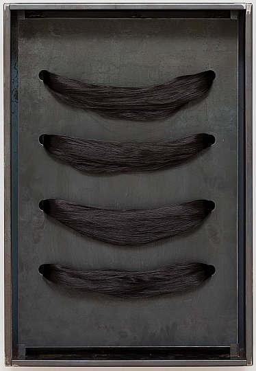 Jannis Kounellis, Untitled (Hair) 2004