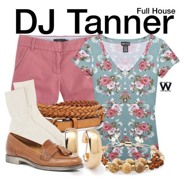 Inspired by Candace Cameron as DJ Tanner on Full House - Shopping info!