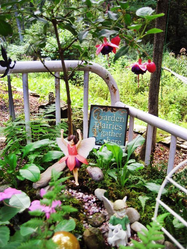 How to Attract Fairies into your Miniature Garden Create a Fairy Garden