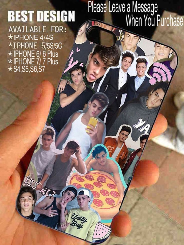 Dolan Twins Collage for iPhone and Samsung Galaxy Case #BrandNew
