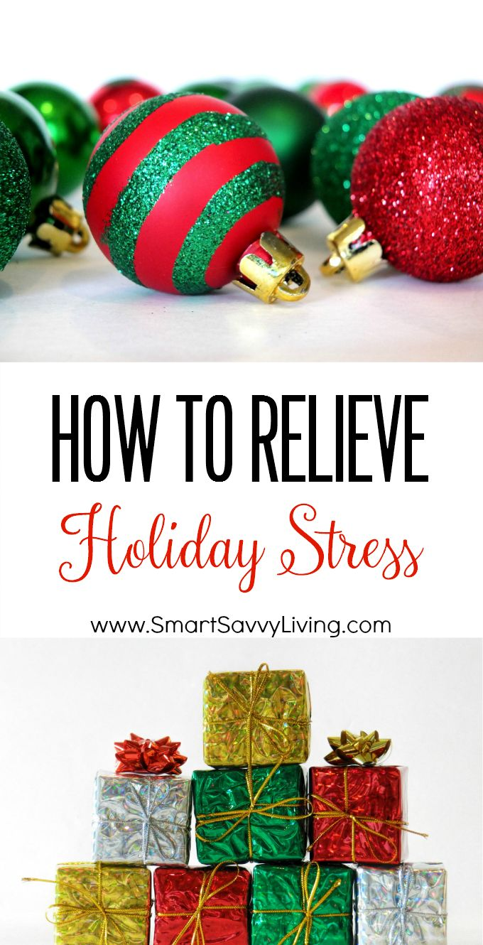 How to Relieve Holiday Stress | This holiday season don't stress yourself out over getting all the perfect Christmas gifts. Give yourself the gift of good health with these tips.
