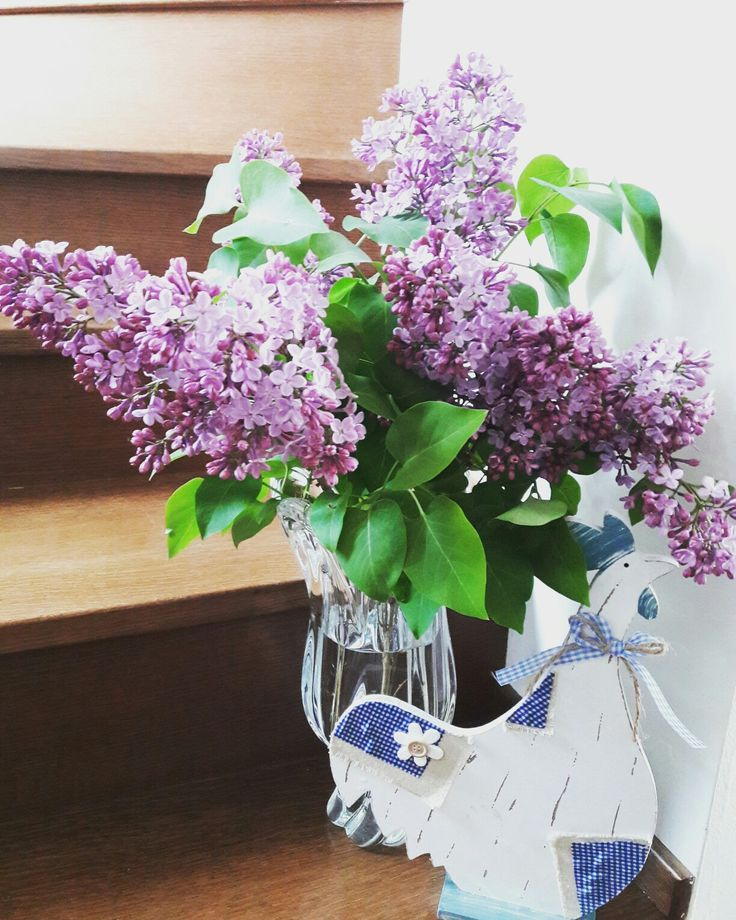 Lilac.Spring/ Easter decoration.
